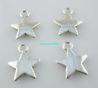 120 600pcs Tibetan silver five pointed star Charms Pendant 1013mm