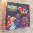 SESAME STREET LIVE Super Grove Ready For Action Original Cast Recording CD NEW!!