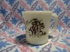 Vintage Fire King Davy Crockett Coffee Mugs in Excellent Condition