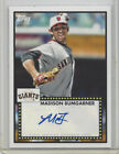 2011 TOPPS LINEAGE 1952 AUTOGRAPH 52A-MB, MADISON BUMGARNER