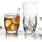 Anchor Hocking Fleur 16-Piece Mixed Tumbler Set Entertaining Drinkware NEW