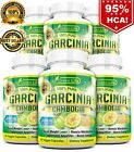 6 X BOTTLES 360 Capsules 3000mg Daily GARCINIA CAMBOGIA HCA 95% Weight Loss Diet