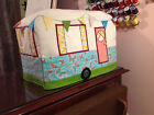CAMPER Caravan Sewing Machine COVER- Not a Pattern...this is a real cover- NEW!
