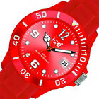 $130 Ice-Watch Sili Collection Plastic Mens Watch SI.RD.B.S.09 BOX IMPERFECTIONS