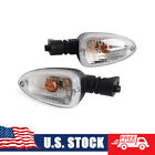 Turn Signal Light Clear Indicator w/ Bulb For BMW K 1200R 1200S 1300R R 1200GS