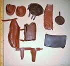 Vintage Marx Toys Johnny West Cowboy Indian Accessories Only Parts