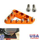 Step Plate Brake Pedal Tip Pad Foot Peg for KTM 85 105 125 144-560 EXC SX XC