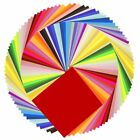 50 Colors 200 Sheets Single Sided Origami Paper Arts Crafts Folding 6x6 Inch