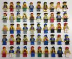 5 LEGO PIRATE MINIFIGS LOT pirates random bulk figures w/ 5 weapon accessories