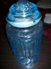 Blue Moon and Stars Canister Jar 12