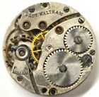 ART DECO LADY WALTHAM POCKET WATCH MOVEMENT FOR PARTS REPAIRS B232