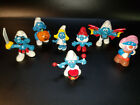 LOT OF LATE 1970'S & 1980'S SMURF'S SCHLEICH PEYO