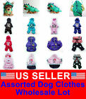 WHOLESALE LOT OF 5 Chihuahua Pet Dog Clothes Puppy Costume New Apparel Boy L