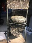 ORVIS Fishing Or Duck Hunting Fold Down Chair with Zippered storage bag