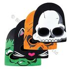 Halloween Knitted Childrens Adults Scary Mask Beanie Hat Trick or Treat Party