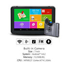 Android 7inch Screen Car DVR GPS Navigator Bluetooth WIFI Quad core Truck
