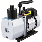 5 CFM Vacuum Pump Rotary Vane 2 Stage 1 2HP HVAC AC Refrigerant Air Conditioning