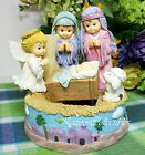 Nativity Music box Musical Rocking baby Morehead