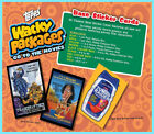 Topps WACKY PACKAGES 2018 GO TO THE MOVIES HOBBY BOX 24 packs SEALED Cards