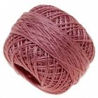 Pearl Cotton Thread Size 8 Medium Wineberry 85 Yard Bobbin Anchor