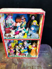 Old Handmade Mexican Diorama Box With Musicians and Creche Nativity Scene