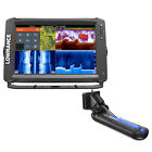 Lowrance Elite 12 Ti Chartplotter fishfinder with TotalScan Transom Mount Transd