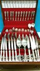 BARTON STERLING SILVER FLATWARE 115 PCS.SET NEW 6295 grams, Never used