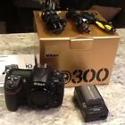 Nikon d300 used body only two chargers and three batteries Free Shipping