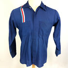 Vintage 50s 60s Mechanics Car Mmotorcycle Club Crew Garage Racing Jacket Shirt