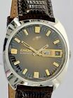 Rare ENICAR automatic stainless steel 24 jewels wristwatch 1970s