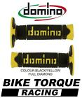 Maico 250/500 GME Domino Full Diamond Grips Black / Yellow