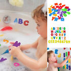 36Pcs Bath Learn Letters  Numbers Stick Floating EVA Baby Bathroom Water Toy