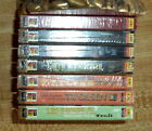 Lot of 7 Brand New Sealed Western Books On Audio Cassette Tapes