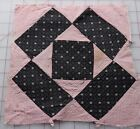 1 1890's Diamond in a Square quilt block, nice graphic