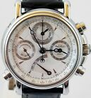 PAUL PICOT TECHNICUM RATTRAPANTE CHRONOGRAPH FULL BOX PAPERS SERVICED EXCELLENT!