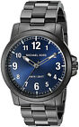 Michael Kors MK8499 Paxton Blue Dial Grey Stainless Steel Men's Watch