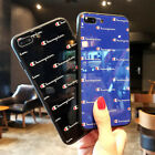 Champion Popup Glass Glossy Slim Hard Case For iPhone X XR XS MAX 6 6s 7 8 Plus