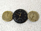 Zentra Aureole Vintage Swiss 3 Three Watch Movements for Pare Parts