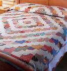 DAISY DOODLE Quilt Pattern Fat Quarters Piecing Scalloped Edge from Magazine