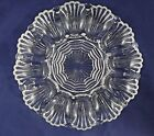 Anchor Hocking Deviled Egg Plate Clear Glass 9.75