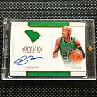 Ray Allen 2016-2017 Panini National Treasures Hometown Heroes Auto Autograph 25