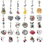 European Newest Alloy Silver Charms Bead Pendant Fit 925 Bracelets Chain 14