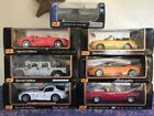 LOT Of 7 MAISTO Model Cars Diecast Special Edition 118 125 New In Box
