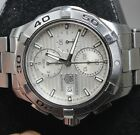 TAG Heuer Aquaracer Men's Automatic Chronograph Date Watch CAP2111 - GREAT SHAPE