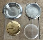 Omega Constellation 24 Jewel 504 Movement And 2 omega cases