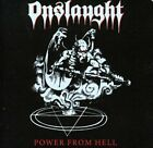 ONSLAUGHT-Power from hell JAPAN CD  PCCY-00480 mega Rare F/S