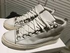 Balenciaga Arena off white sneakers triple s pleated mr porter rouge red 105 42