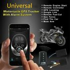 Motorcycle Engine Start Keyless Entry System GSM GPS Tracker + One Way Remote