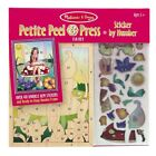 Petite Peel  Press Sticker by Number Fairy With Stickers Melissa  Doug