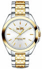 Coach 14502180 Tristen Silver Dial Two Tone Stainless Steel Women's Watch